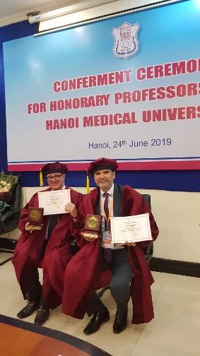 Professor Michael Tirant and Professor Torello Lotti