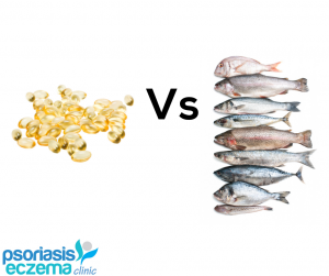 Fresh fish or fish oils