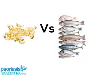 Fresh fish or fish oils